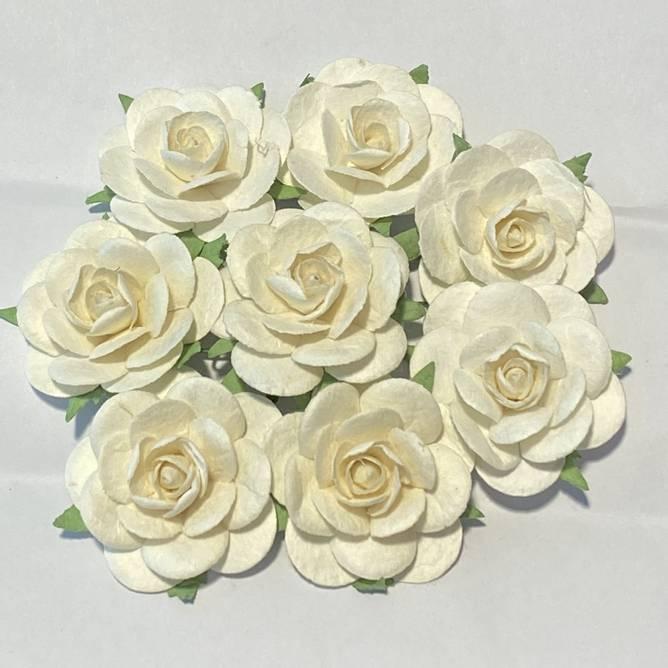 Bilde av Roser 3,5 cm, hvit (6)