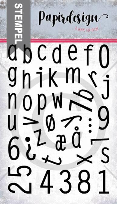 Bilde av PD 2000365 Alfabet 4 små